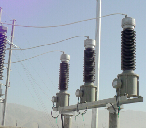 outdoor type Oil - immersed Capacitive Voltage Transformer( CVT)