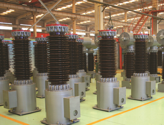 HV Outdoor type SF6 Gas insulated voltage transformer