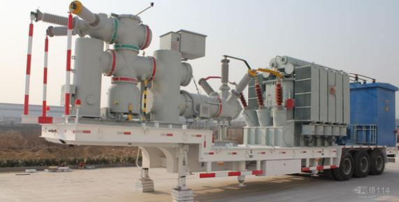72.5kv High Voltage AIS & GIS Mobile transformer substation