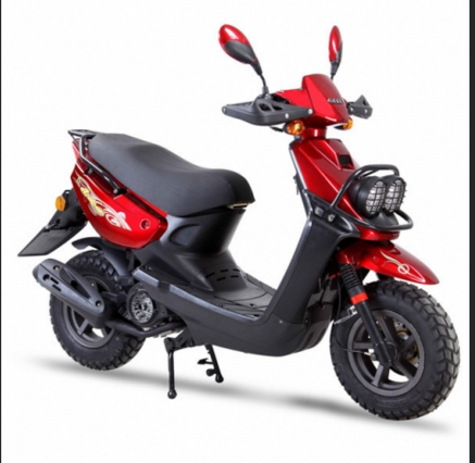 Wholesale Chiese Scooter 150cc Moped Red