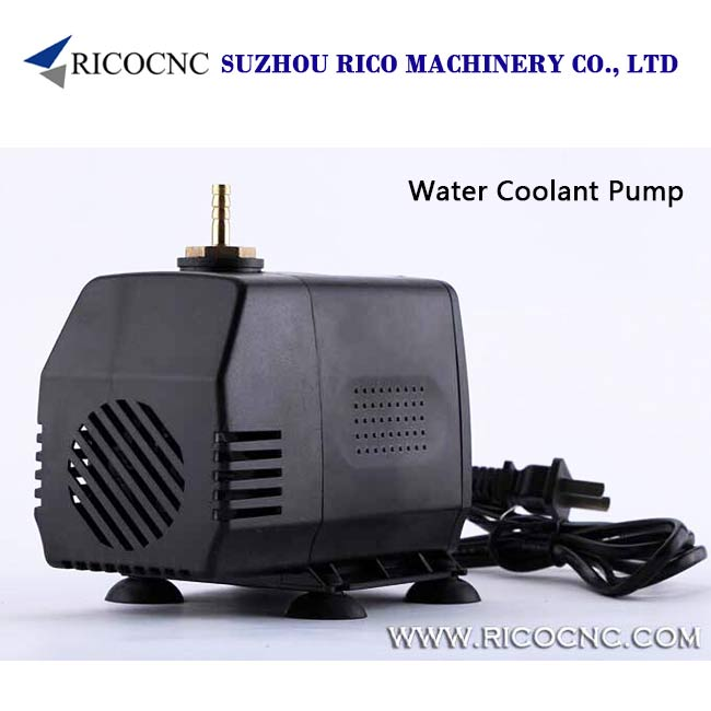 Small Electric Water Coolant Pump Kits for Water Cooling Spindle