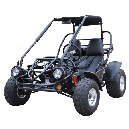 150cc Gas Go Kart With Reverse Balck
