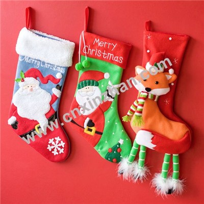 Christmas Socks Fuzzy Gift In Bulk Customized Patterns For Sale