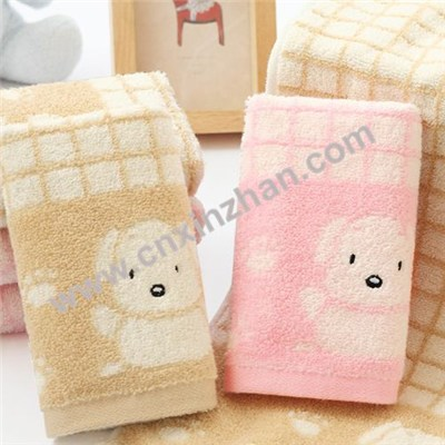 Baby Hooded Bath Towels And Washcloths For 6 | 12 Months Baby Gift Sets With Cartoon Animal Patterns Colors, Size Customized