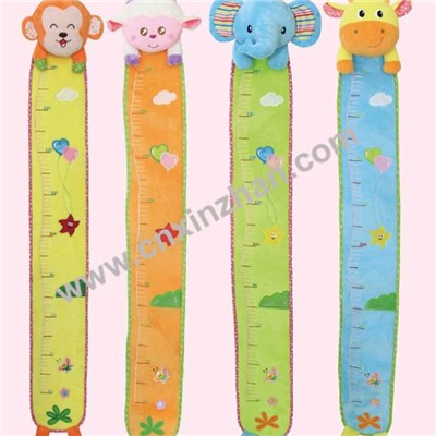 Cartoon Ruler Plush Soft Toy For Baby 120cm, 140cm, 150cm With Small Stuffed Animals Foldable For Sale