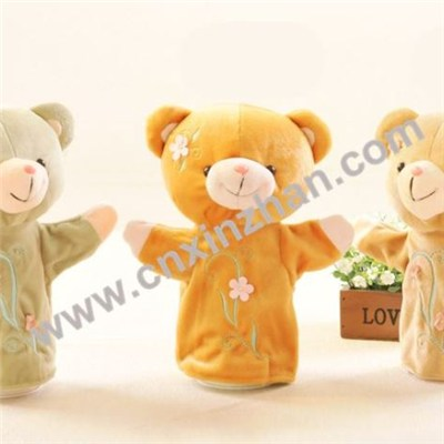 Hand Puppet Plush | Soft Toys Cute, Pretty, Attractive Bear, Elephant, Monkey, Crocodile, Rabbit, Calf For Girls On Sale