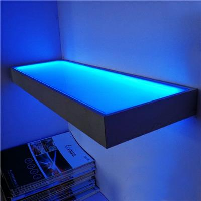 Led Light For Decoration Square Illuminated Kitchen Glass Shelves