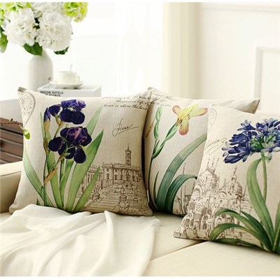 Cushion Cover for Custom Hot Selling Digital Printed 3D 16x16  Bulk Pillow Cases Sofa Chair Decorative Wholesale Pillow for Covers