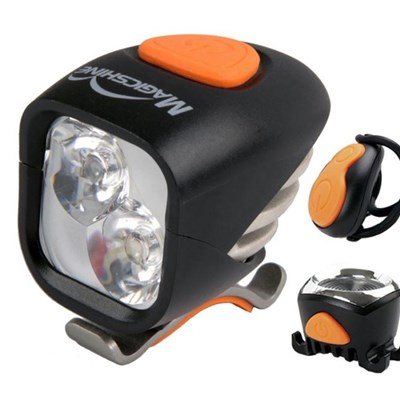 MJ-902 MTB Headlamp With Tail Light, LED Headlight And Taillight Combo