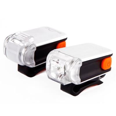 MS-622 Rechargeable Budget Bike Front And Rear Combo Lights Set