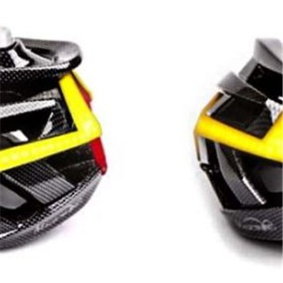 MJ-898 Bike Helmet With Built In Front, Turn Signals And Rear Lights