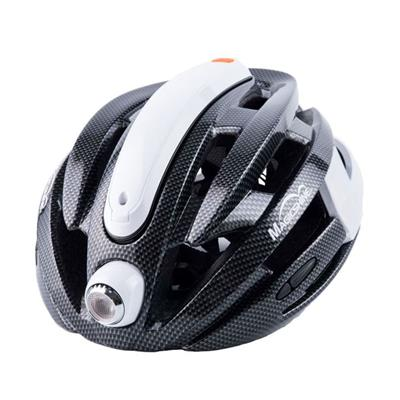 MJ-898 MTB Bike Helmet Headlight With Led Headlamps And Intelligent Rear Safety Light