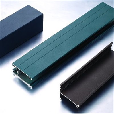 Construction Curtain Wall Aluminium Extrudate Profile For Glass Curtain