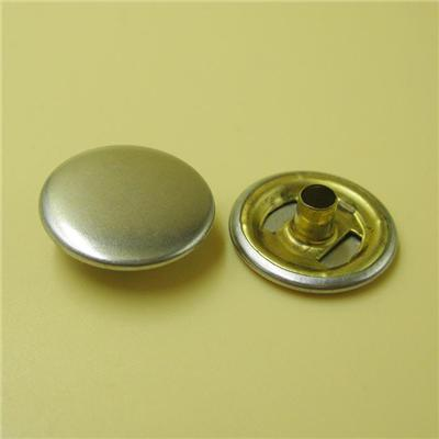 Ring Snap Buttons with Nickel Color Metal Button Snaps for Clothing Snap Buttons for Clothing
