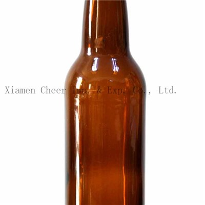 330ml Amber Color Glass Bottle Beer Bottle (PJ330-1855)