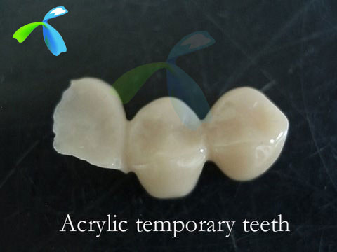 Temporary provisionals/Transition crowns/ bridges or dentures from Chinese Dental manufacturer