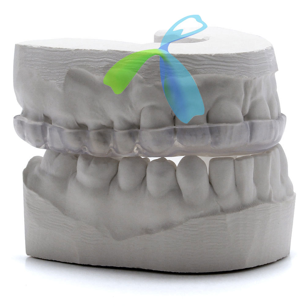 Mouth Night Guard/Splint hard/soft with Clear or colored outsourcing from China
