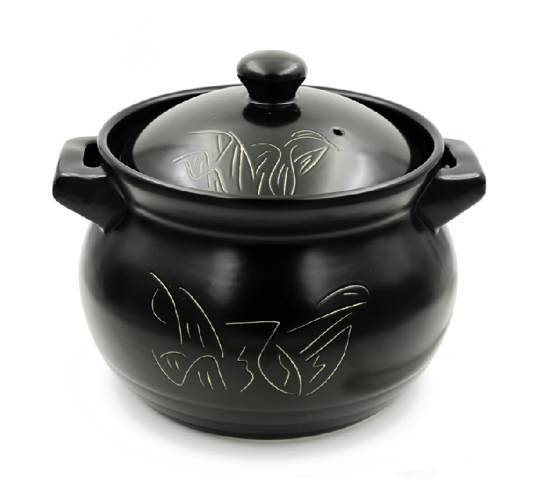 Open fire high temperature spodumene casserole stew pot pot soup pot