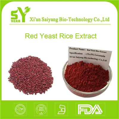 Lovastatin Organic Red Yeast Rice Extract for Lowering Cholesterol