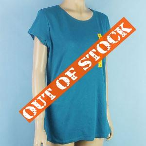 Ladies Womens Knitted Cotton Tee Shirts Plain Round Neck Liquidation from Bangladesh