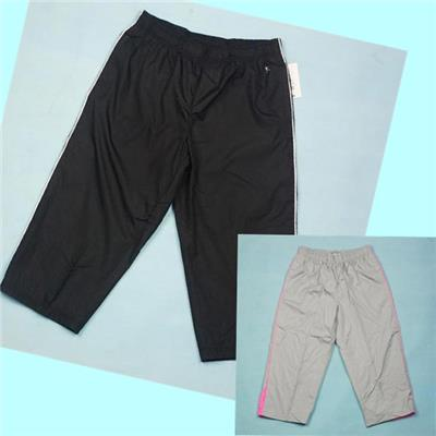 Stock Womens Capris Track Capri Sweatpants