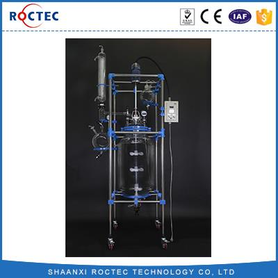 Cheaper Explosion-proof 100L Double Glass Reactor