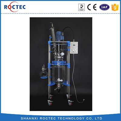 Explosion-proof Laboratory Chemical Equipment Laboratory Instrument 20L double Glass Reactor
