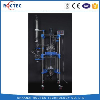 30L Double Jacketed Glass Chemical Reactor