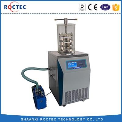 Floor Vacuum RT-5-12 Top Press Vacuum Freeze Dryer Equipment Laboratory Vacuum Freeze Dryer