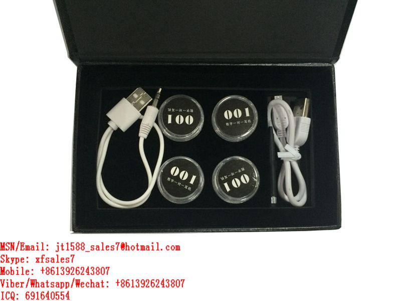 XF Newest Model 001 Bluetooth Earpieces To Connect With Poker Analyzers And Mobile Phones / Casino cheat / Contact Lens / Poker Chips  Hidden Camera / Mahjong / Gambling Machine / Cheating Analyzer /