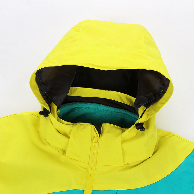 Woman's heated outdoor hoodie hiking jacket
