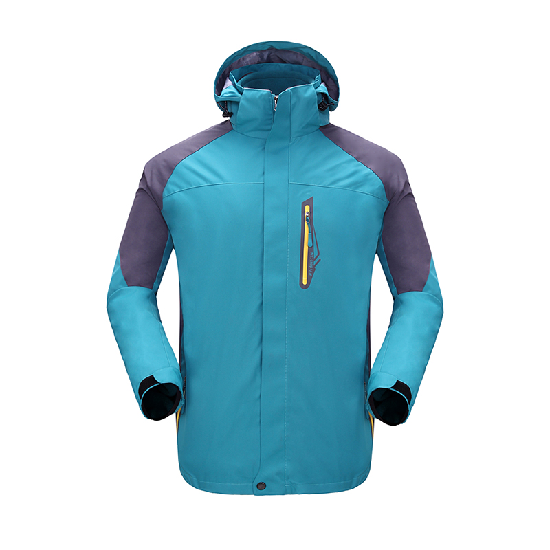 Men's heated outdoor hoodie jacket