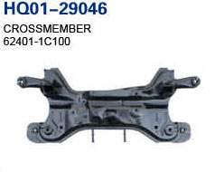 Getz 2002 Crossmember, Rear Crossmember, Cross Member (55100-1C100, 62401-1C100)