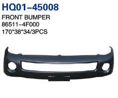 H100 2004 Bumper, Front Bumper With Fog Lamp Hole, Front Bumper Without Fog Lamp Hole, Front Bumper Grille, Front Bumper Support (80510-4F000,