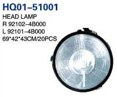 Pick Up 1999 Auto Lamp, Headlight, Headlight Case, Tail Lamp, Back Lamp, Rear Lamp, Fog Lamp, Fog Lamp Cover (92102-4B000, 92101-4B000, 92402-4B000, 92401-4B000, 92302-4B001, 92301-4B001, 92202-4B000,