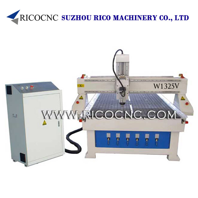 MDF Board Cutting CNC Router Machine with Vacuum Table W1325V