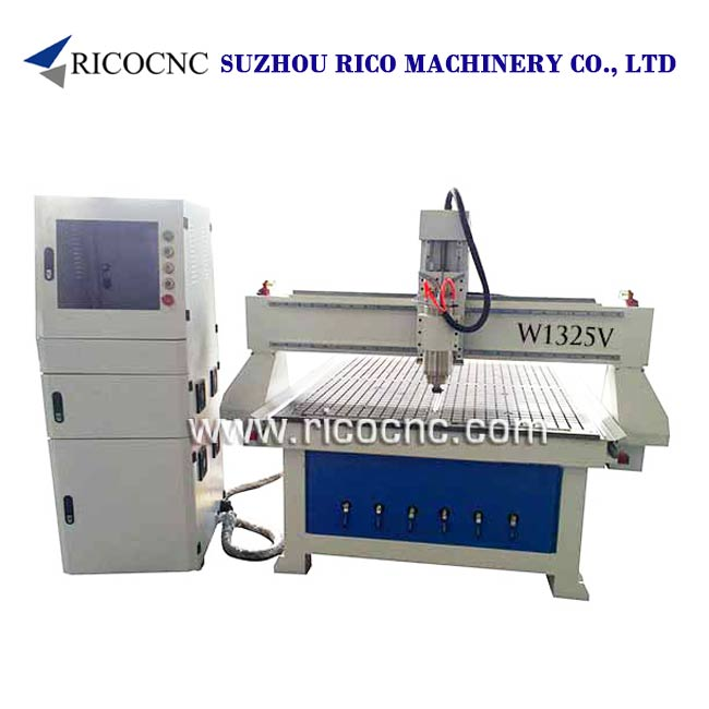 3D Wavy Board Carving Machine MDF Wall Panels Cutting Machine W1325VC