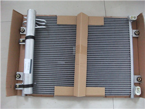 Original PC300-7 excavator hydraulic oil cooler 207-03-71641