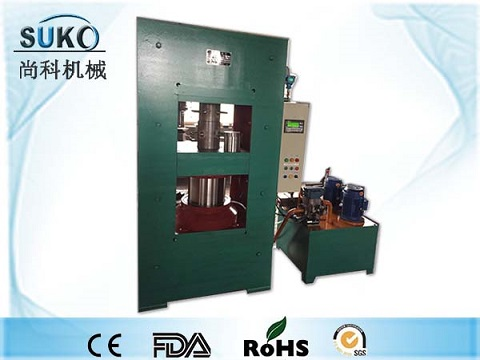 Semi-Auto control compress molding machine