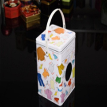 Best qualitity good price tin can with plastic handlebar
