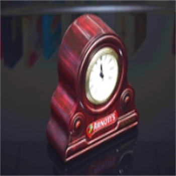 special clock shaped metal tin can