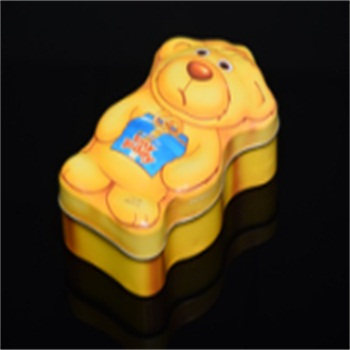 new design special shape metal tin box