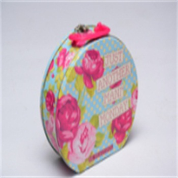 Special shape gift packing tin can