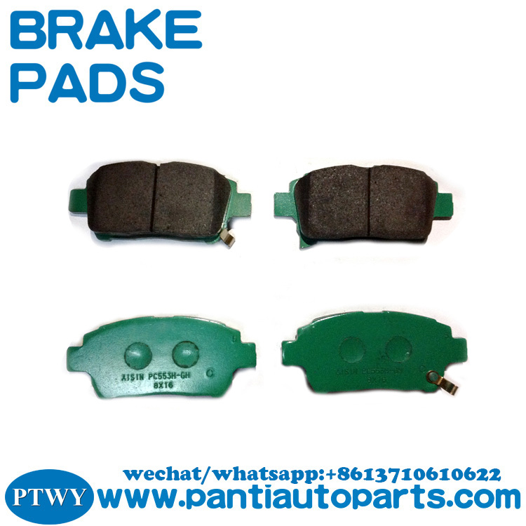 high performance brake pads For Toyota Corolla