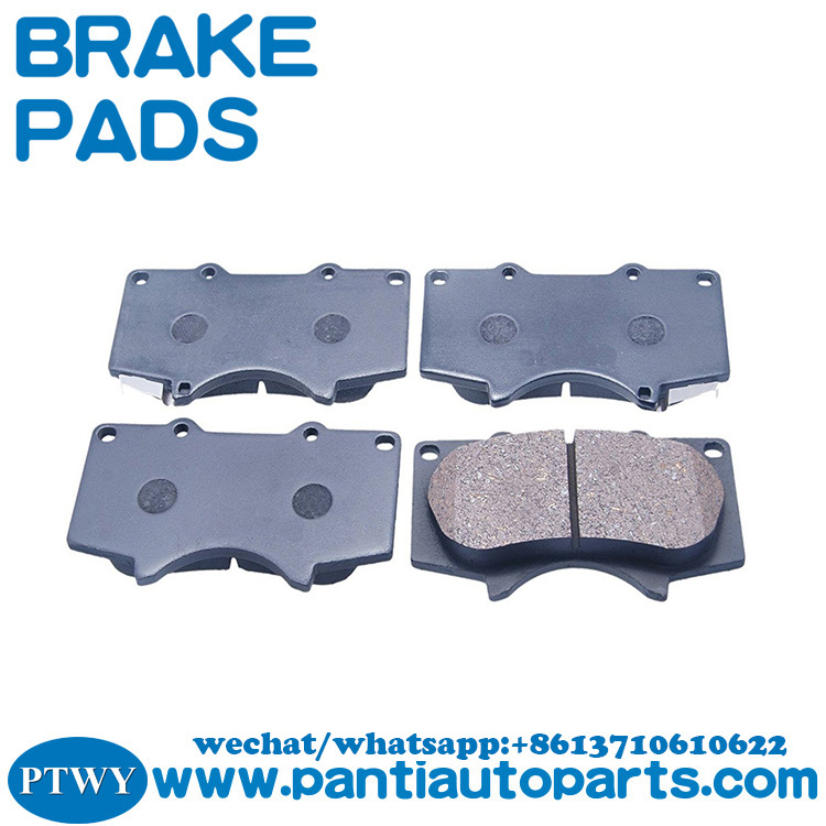 high quality Front Axle brake pads for toyota land cruiser PRADO 04465-0k090