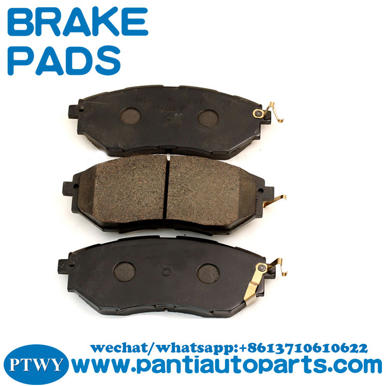 High quality super quiet brake pads for subaru OEM26296-AG000