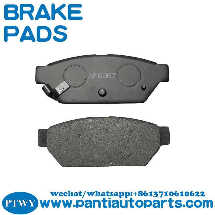 High qulity brake pad mb928314 mb 928 314 for MITSUBISHI COLT VI