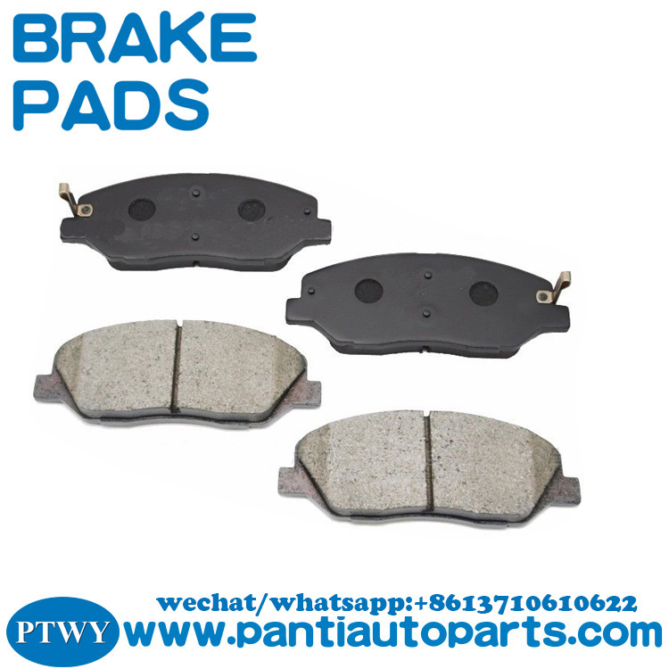OEM auto brake pads 58101-0WA00 for Hyundai SANTA