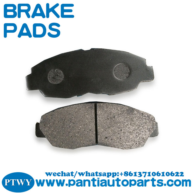 replace Front Brake Pad Set 06450-S5D-A01 from china semi metal brake pads factory