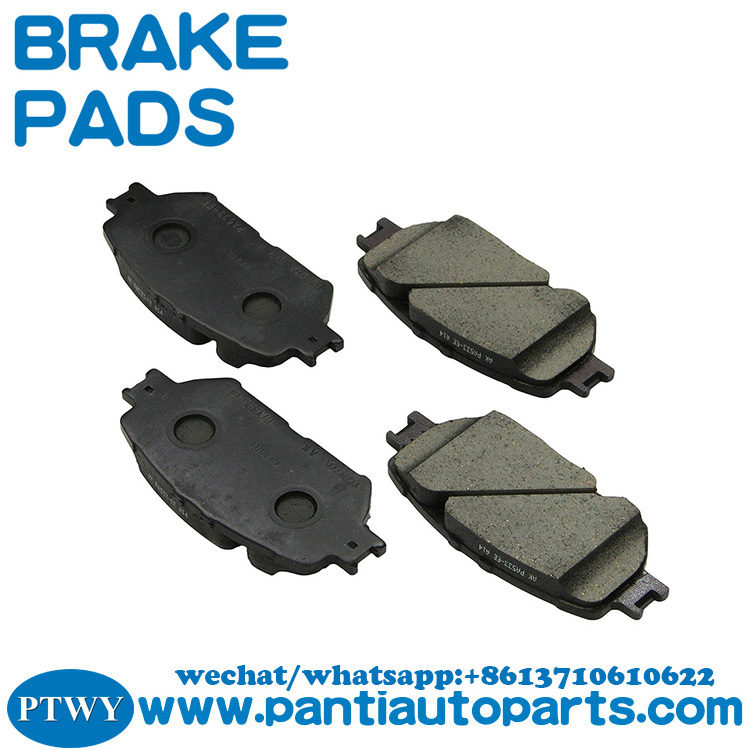 04465-33240 Front Brake Pad Set for 2005 toyota camry brake pads